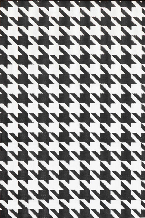 Hound Tooth Black&White HOU45-BK1