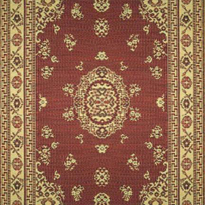 Oriental Floral Red OFL46-RD1